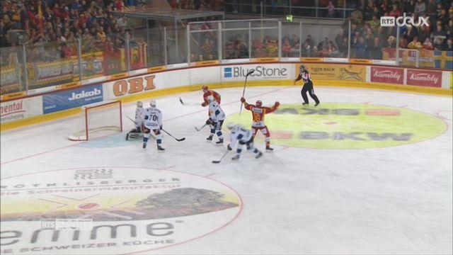 Hockey- LNA (10e j.): Fribourg tombe à Langnau (2-3) [RTS]