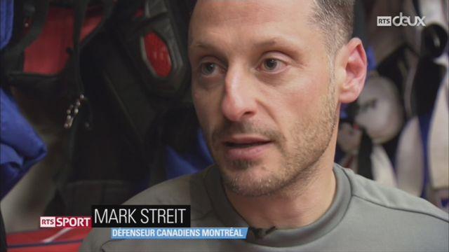 Hockey- NHL: Mark Streit se confie sur son rôle aux Canadiens de Montréal [RTS]