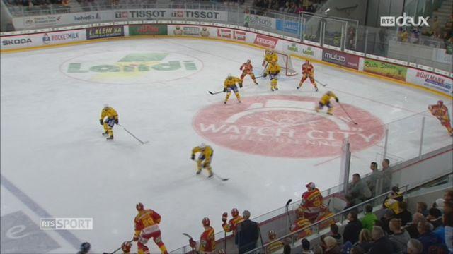 Hockey- LNA (10e j.): Bienne se laisse piéger par Davos (2-3) [RTS]