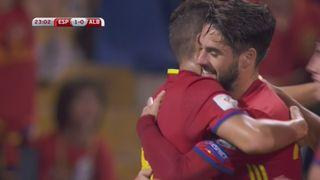 Resumé Italie - Macédoine 1-1 Espagne - Albanie 3-0 [RTS]