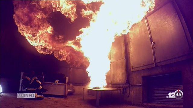 CQFD: pourquoi ne faut-il pas lancer de l'eau pour éteindre de l'huile en feu ? [RTS]