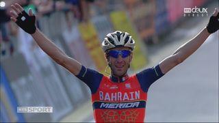 Vincenzo Nibali (ITA) s'impose en solitaire et remporte le 111e tour de Lombardie [RTS]