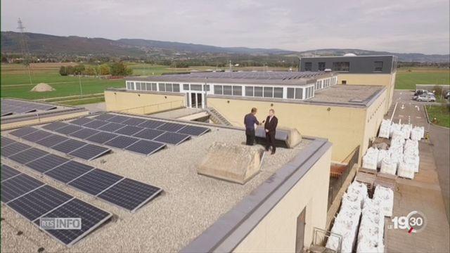 Energie solaire: le potentiel de Nyon est important [RTS]