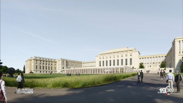 Le Palais des Nations Unies s'offre un lifting [RTS]