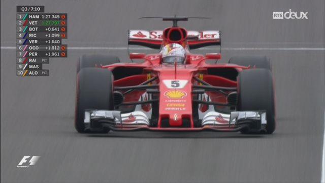 F1 - GP du Japon: Lewis Hamilton décroche la pole position [RTS]