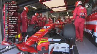 Abandon de Sebastian Vettel [RTS]