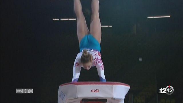 La gymnaste Giulia Steingruber a décroché le bronze en saut aux Mondiaux de Montréal [RTS]