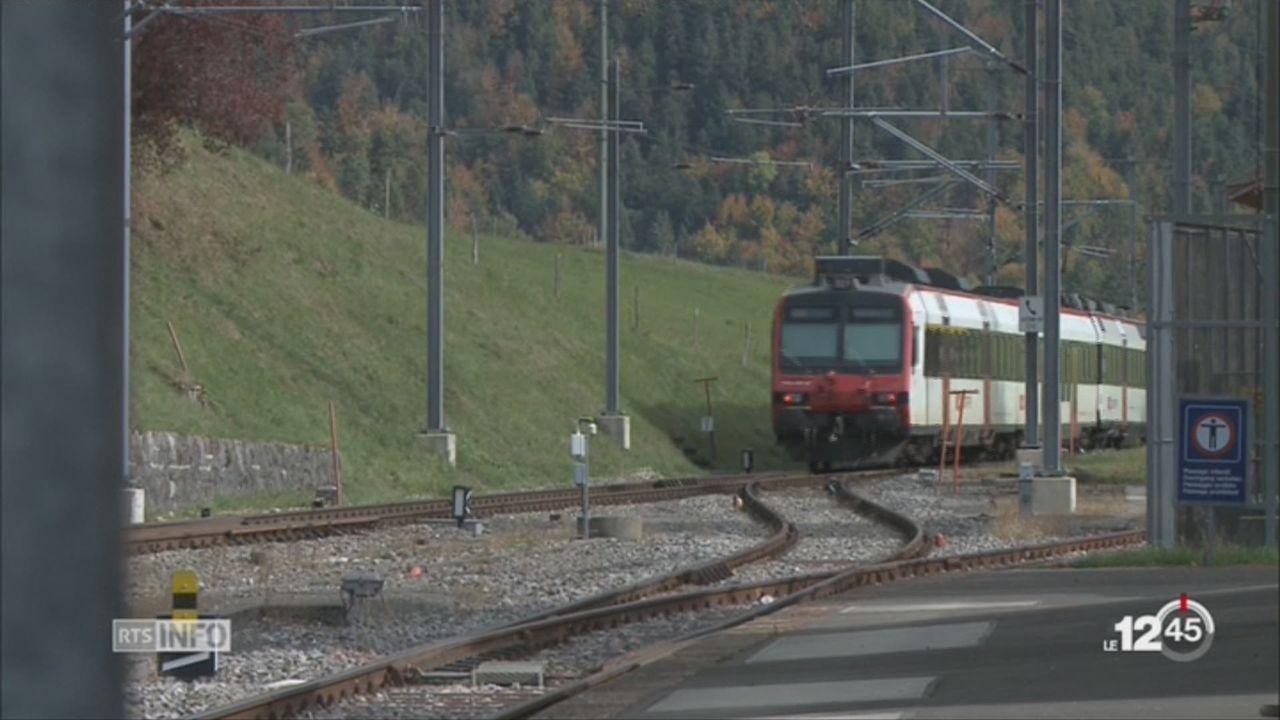 NE: commémoration des 75 ans de l'électrification de la ligne ferroviaire Neuchâtel – Les Verrières [RTS]