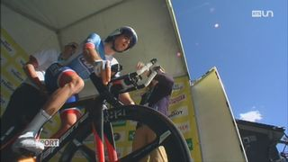 Cyclisme: Sébastien Reichenbach chute et porte plainte [RTS]