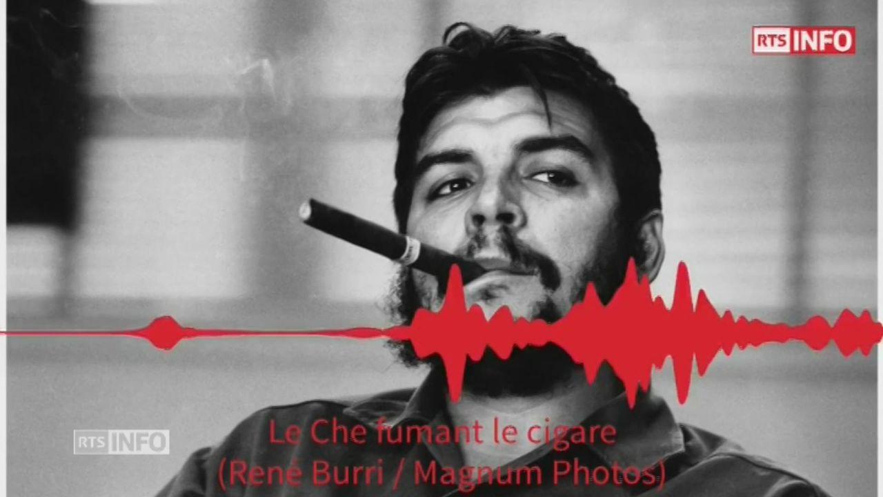 La celebre photo du Che par Rene Burri [RTS]