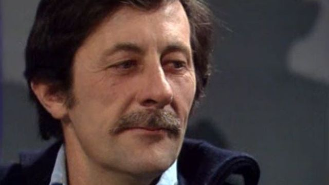Jean Rochefort sur le plateau de Spécial Cinéma en 1979. [RTS]