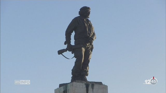 Cuba rend hommage au Che Guevara 50 ans après sa mort [RTS]