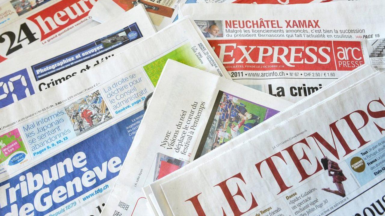 Globalement, la part d'utilisateurs en ligne de marques de médias imprimés est restée stable. [Dominic Favre]