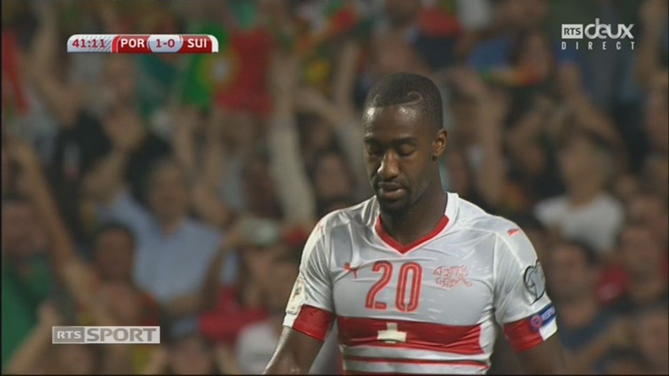 Qualifications, Portugal – Suisse (1-0): Djourou (csc) [RTS]
