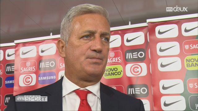 Qualifications, Portugal – Suisse (2-0): l'interview de Vladimir Petkovic après la rencontre [RTS]