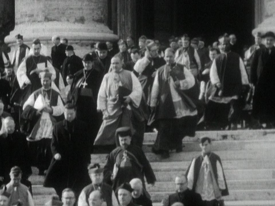 Le Concile Vatican II : renouveau pour l'Eglise catholique. [RTS]
