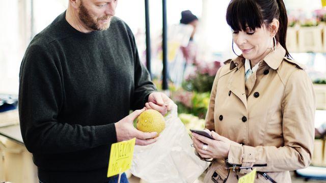 Les Suédois utilisent l'application Swish même pour les plus petites transactions monétaires du quotidien. [Swish]