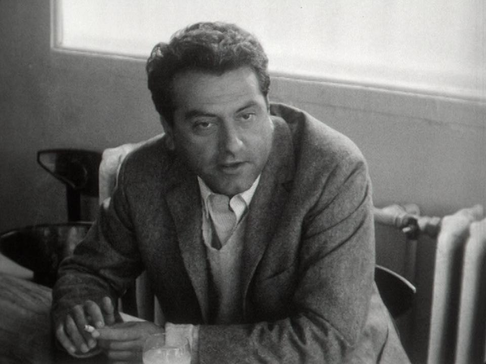 Jean Douchet, critique de cinéma, comédien et cinéaste, 1965. [RTS]