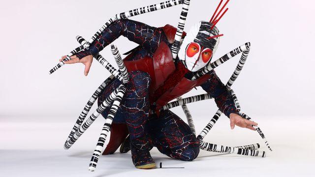 "Costumes du spectacle ""Ovo"" du Cirque du Soleil. [OSA Images - cirquedusoleil.com]"