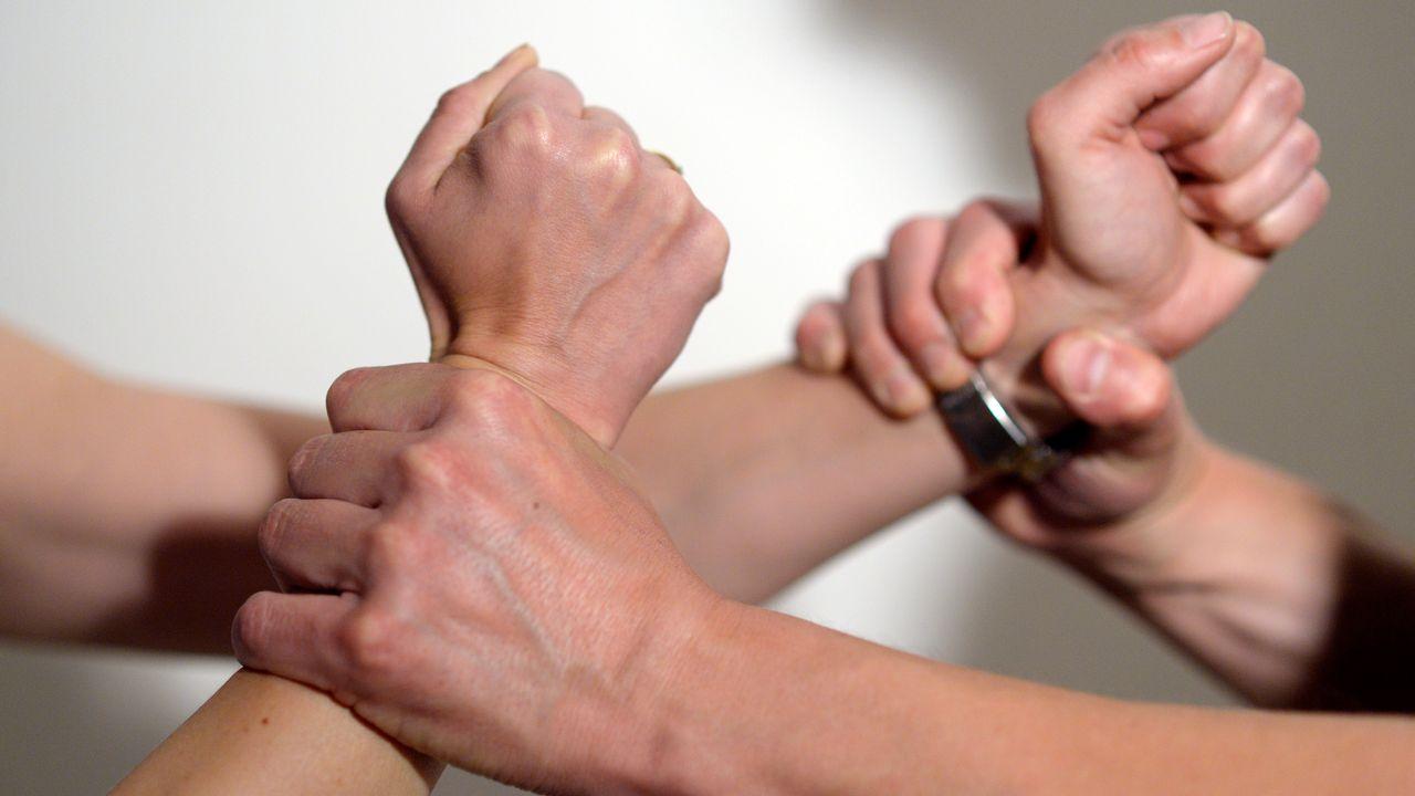 Les violences domestiques ainsi que le harcèlement obsessionnel ont progressé de 2% depuis 2016. [Maurizio Gambarini - DPA - AFP]