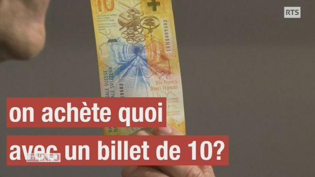 Avec quoi peut-on acheter avec 10 francs? [RTS]