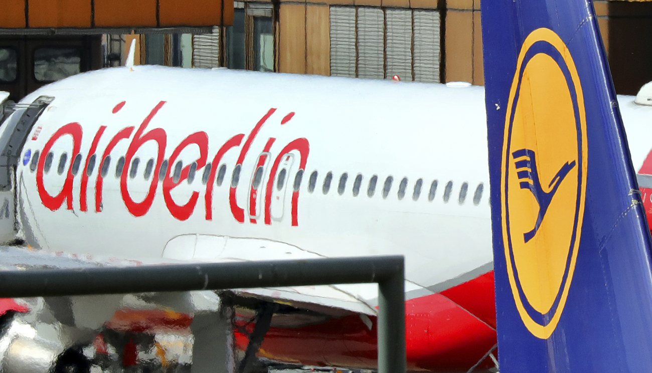 Lufthansa s'adjuge la part du lion — Reprise d'Air Berlin
