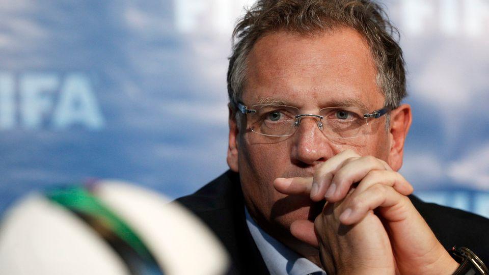Jérôme Valcke, l'ancien secrétaire général de la FIFA. [AP Photo/Christophe Ena - Keystone]