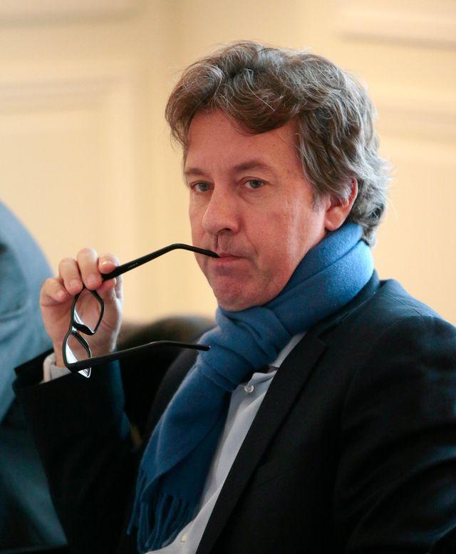 Le journaliste français Christian Chesnot. [Jacques Demarthon - AFP]