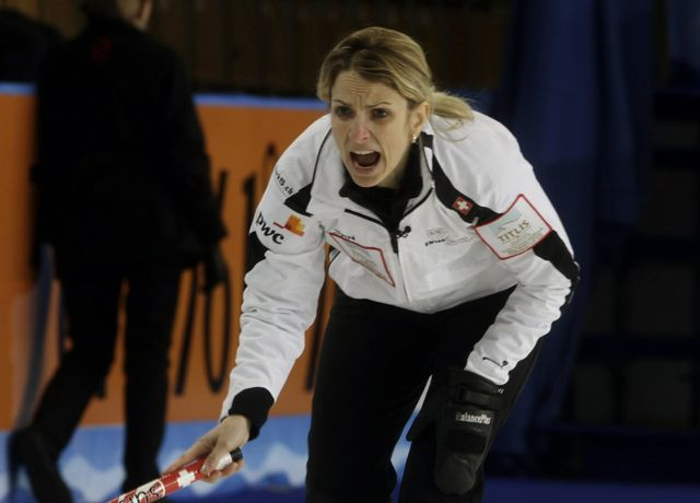 Silvana Tirinzoni représentera la Suisse en Corée du Sud avec le CC Aarau. [Valda Kalnina - Keystone]
