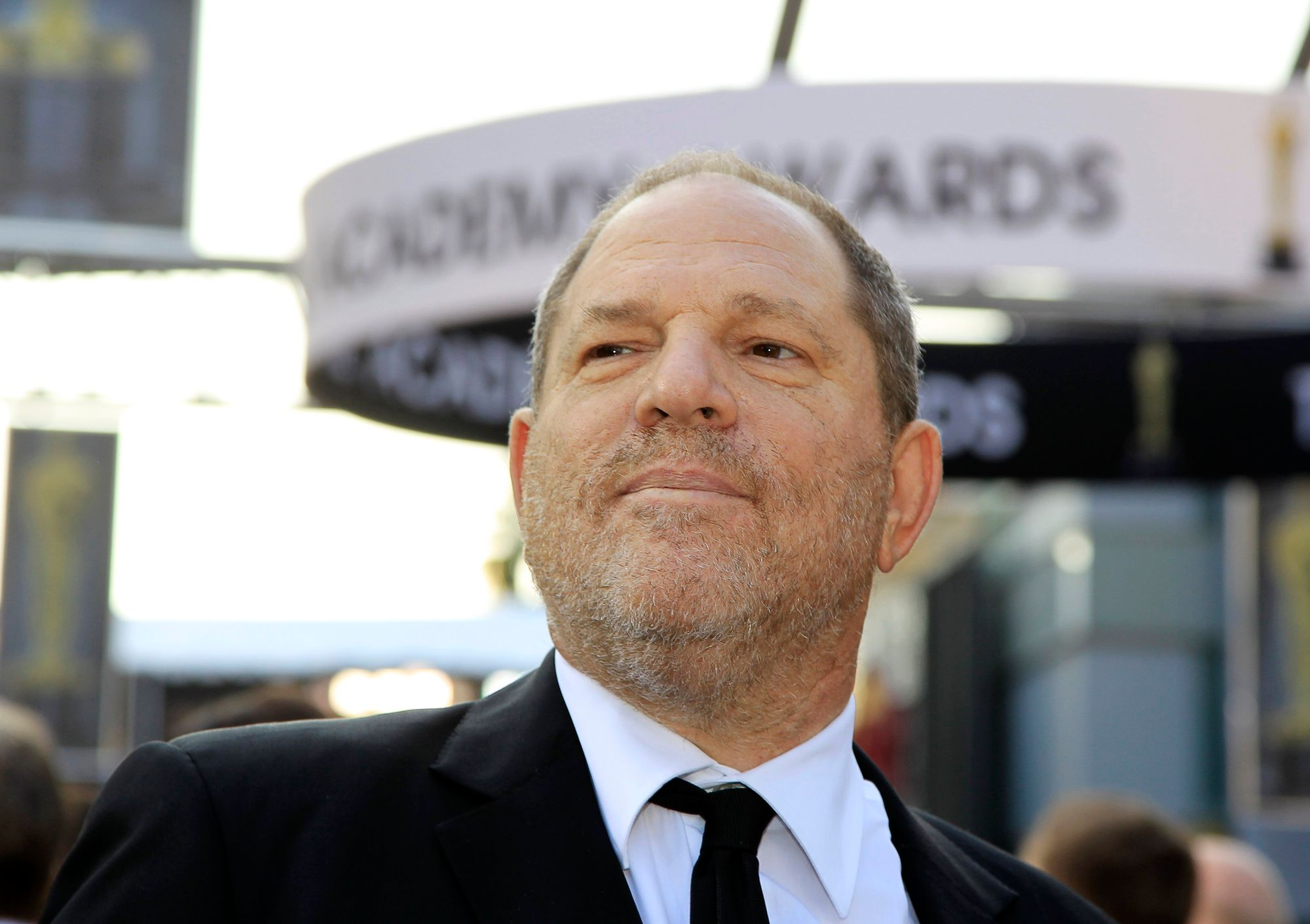 Harvey Weinstein aux Academy Awards en 2012.