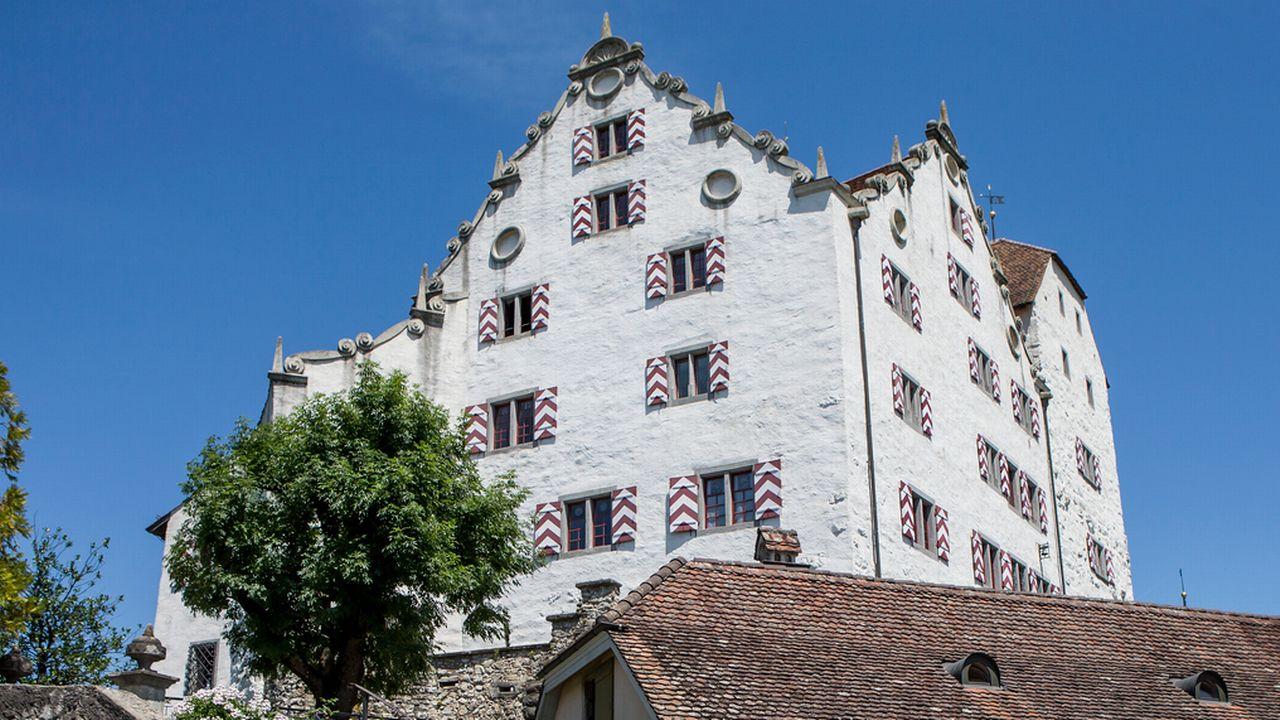 Le château de Wildegg, dans le canton d'Argovie. [Alexandra Wey - Keystone]