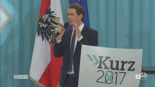 Législatives autrichiennes: le conservateur Sebastian Kurz, 31 ans, remporte les élections [RTS]
