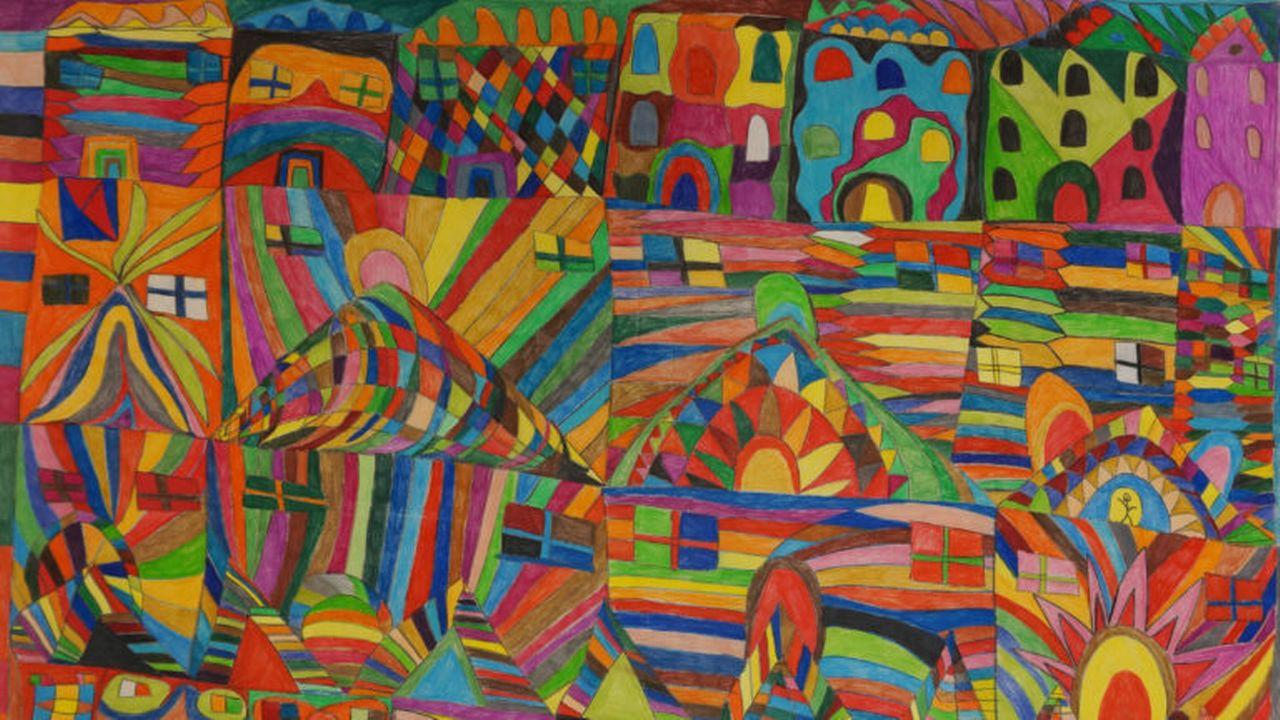 """""""Maisons"""", de la Fribourgeoise Rosalina Aleixo, s'est vu attribuer le prix Aare Brut. [Aare Brut]"""