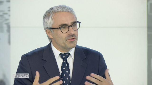 Pascal Saint-Amans et la fin de la rente en Suisse [RTS]