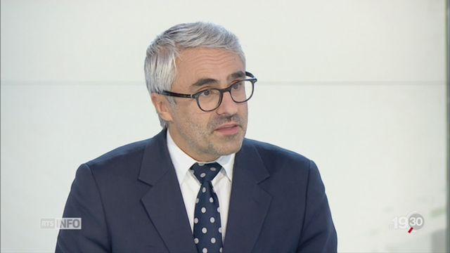 Taxer les géants du web: l'interview de Pascal Saint-Amans [RTS]