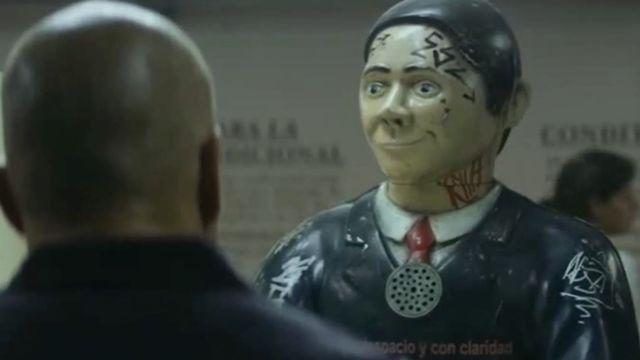 Matt Damon sous l'emprise des robots dans Elysium (2013) [Sony Pictures Entertainment]