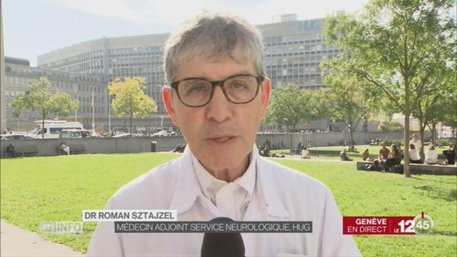 Journée mondiale de l'AVC: entretien avec Dr. Roman Sztajzel [RTS]