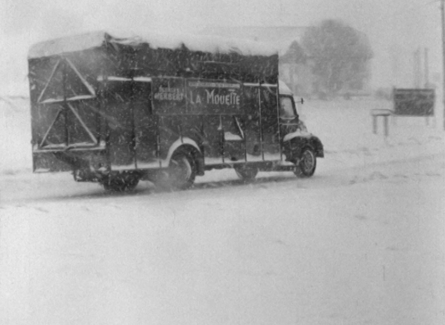 Tempête de neige à la Vue-des-Alpes