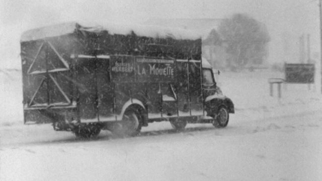 Tempête de neige à la Vue-des-Alpes [RTS]