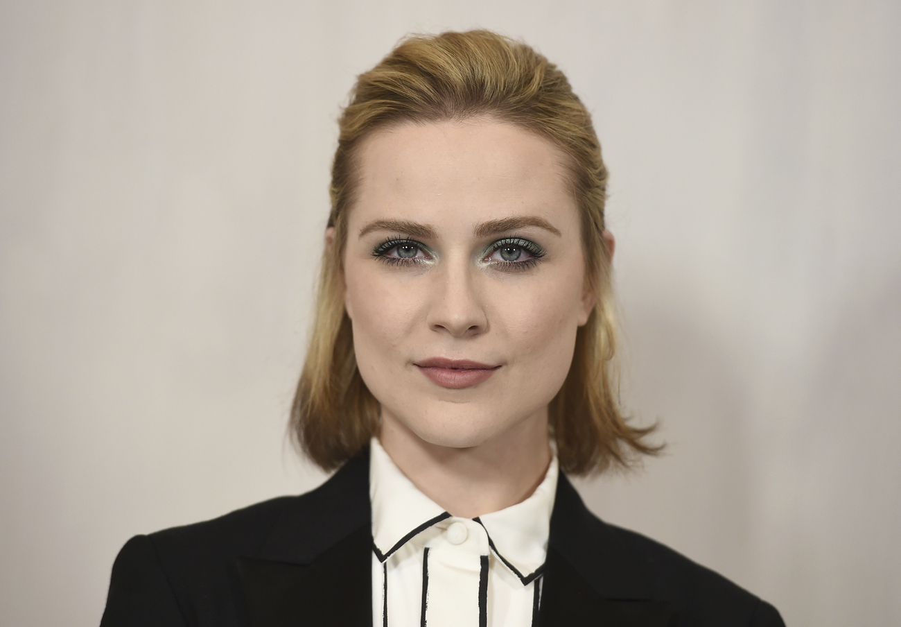 Evan Rachel Wood, le 14 octobre 2017 à Los Angeles.