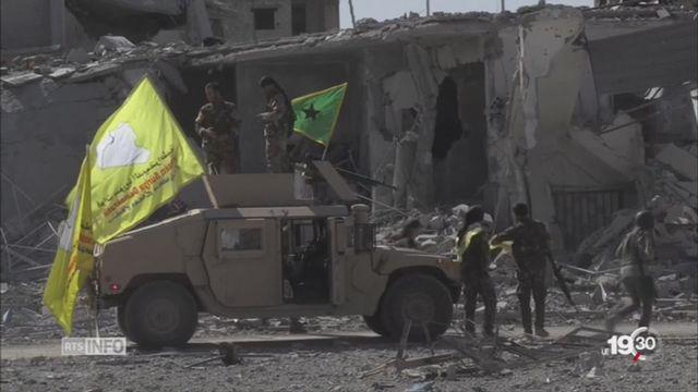 Syrie: Raqqa, le bastion du groupe Etat islamique, est tombé [RTS]