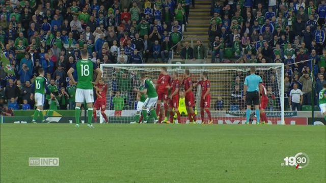 Mondial 2018: la Suisse affrontera l'Irlande du Nord en barrage [RTS]