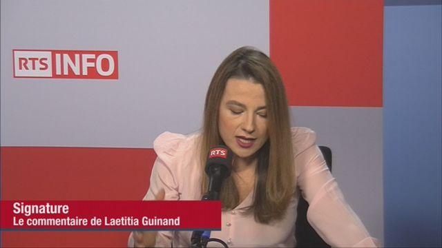 Signature de Laetitia Guinand (vidéo) - Affaire Weinstein: le silence des hommes [RTS]