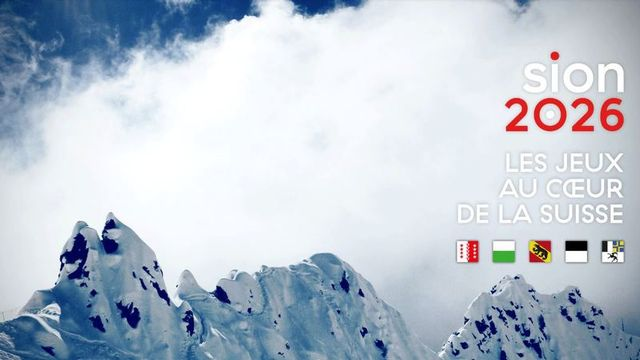 Le projet de Jeux olympiques d'hiver Sion 2026. [DR]