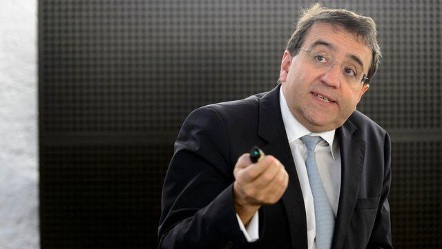 Le conseiller d'Etat vaudois Pascal Broulis. [Laurent Gilliéron - Keystone]
