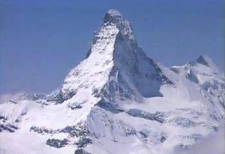 Le Cervin, symbole d'une Suisse olympique? [RTS]