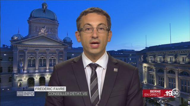 Sion 2026: entretien avec Frédéric Favre [RTS]
