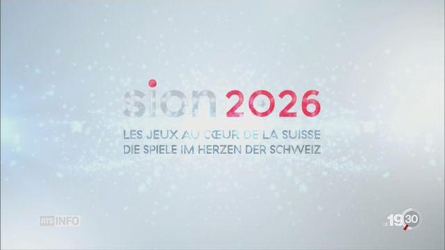 Ce que contient la candidature de Sion pour les JO 2026 [RTS]