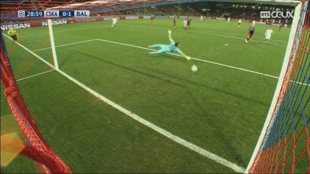 Ligue des champions, Gr.A, CSKA Moscou – Bâle (0-1): 29e Xhaka [RTS]