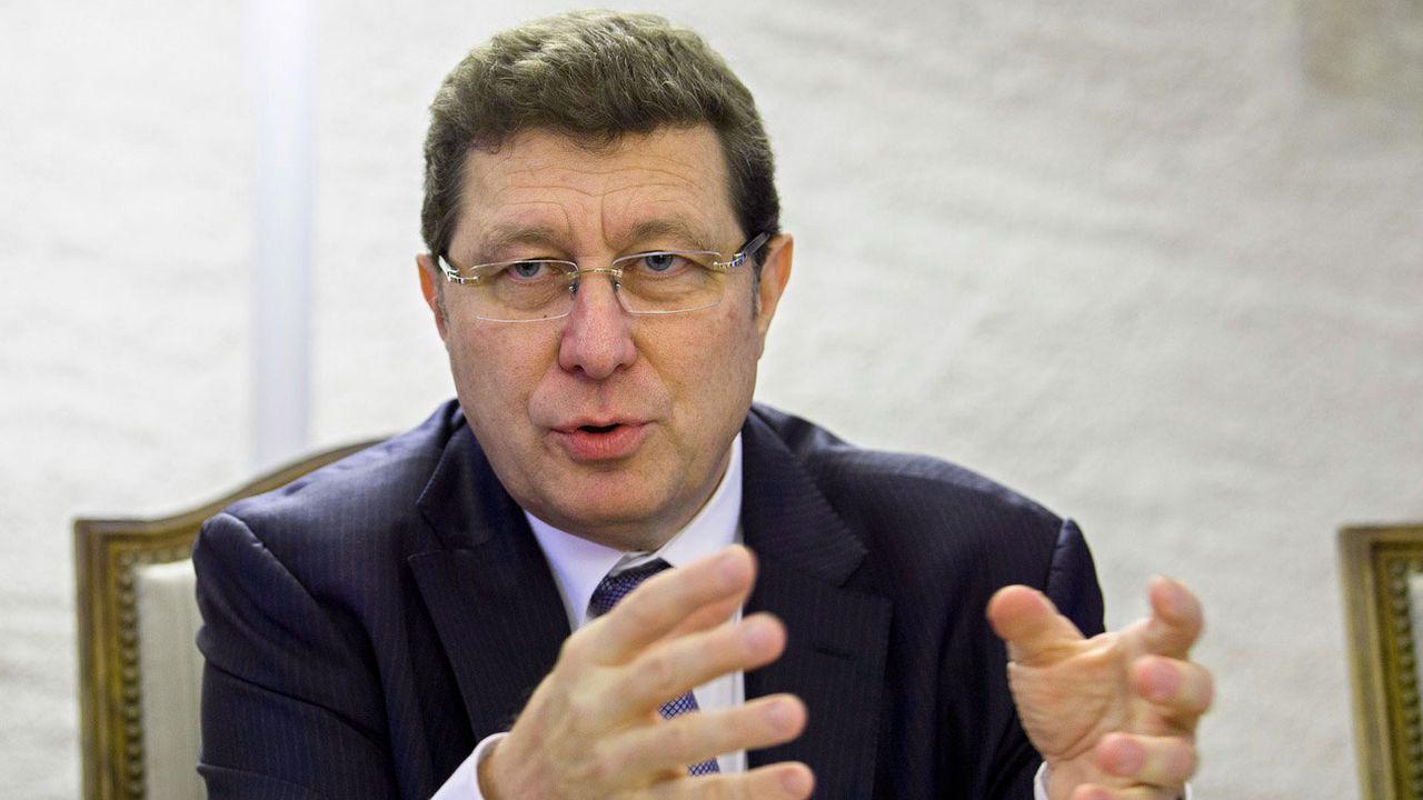 Le conseiller d'Etat genevois Mauro Poggia. [Martial Trezzini - Keystone]